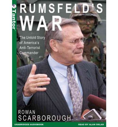 Rumsfeld's War by Rowan Scarborough Audio Book Mp3-CD