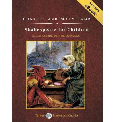 Shakespeare for Children by Charles Lamb Audio Book CD