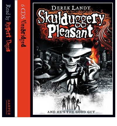 Skulduggery Pleasant: Complete & Unabridged by Derek Landy AudioBook CD