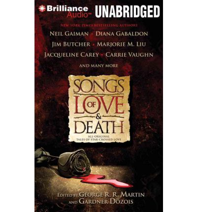 Songs of Love & Death by Neil Gaiman AudioBook Mp3-CD