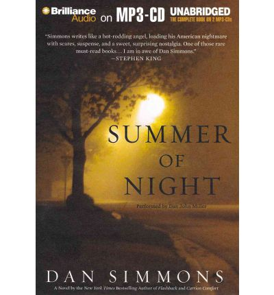 Summer of Night by Dan Simmons AudioBook Mp3-CD