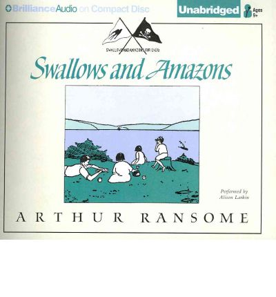 Swallows and Amazons by Arthur Ransome AudioBook CD