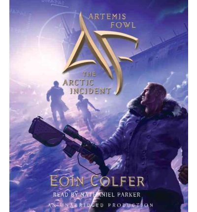 The Arctic Incident by Eoin Colfer AudioBook CD