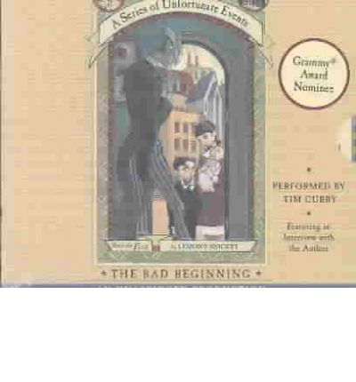The Bad Beginning by Lemony Snicket Audio Book CD