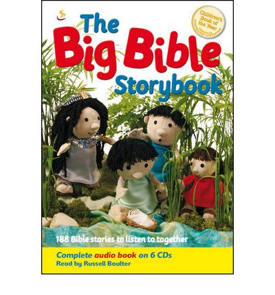 The Big Bible Storybook by Maggie Barfield AudioBook CD