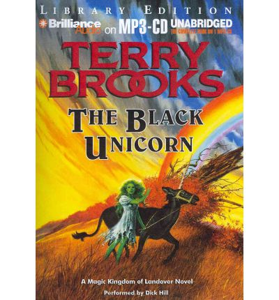 The Black Unicorn by Terry Brooks AudioBook Mp3-CD