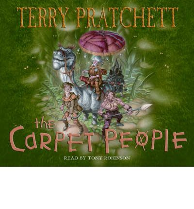 The Carpet People by Terry Pratchett AudioBook CD