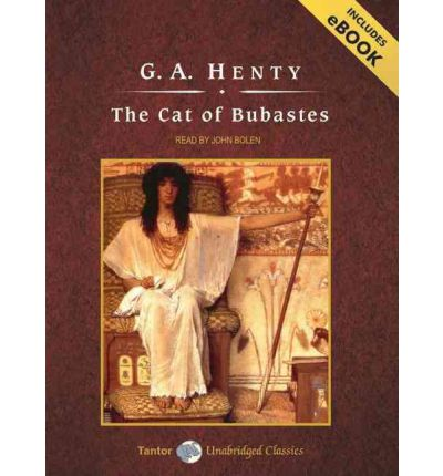 The Cat of Bubastes by G.a. Henty Audio Book Mp3-CD