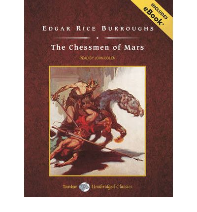 The Chessmen of Mars by Edgar Rice Burroughs Audio Book Mp3-CD