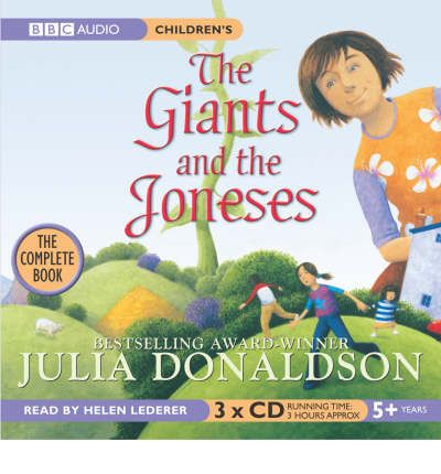 The Giants and the Joneses by Julia Donaldson AudioBook CD
