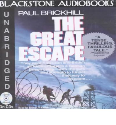 The Great Escape By Paul Brickhill Audiobook Cd The