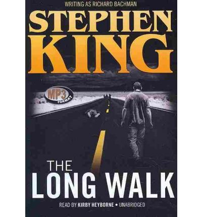 The Long Walk by Stephen King Audio Book Mp3-CD