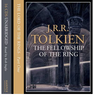 The Lord of the Rings: Fellowship of the Ring Pt.1 by J. R. R. Tolkien AudioBook CD