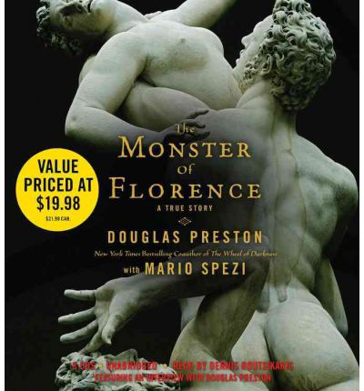 The Monster of Florence by Douglas J Preston Audio Book CD