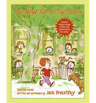 The New Kid on the Block by Jack Prelutsky Audio Book CD