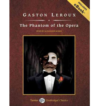 The Phantom of the Opera by Gaston Leroux AudioBook CD
