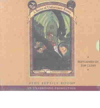 The Reptile Room by Lemony Snicket AudioBook CD