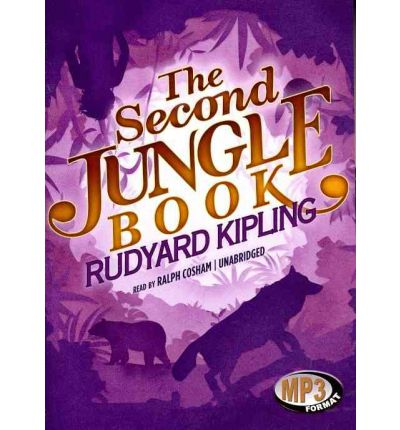 The Second Jungle Book by Rudyard Kipling Audio Book Mp3-CD