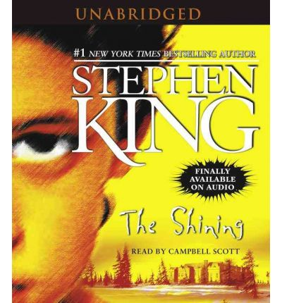 The Shining by Stephen King AudioBook CD