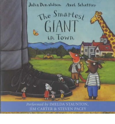 The Smartest Giant Town by Julia Donaldson AudioBook CD