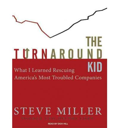 The Turnaround Kid by Steve Miller AudioBook CD