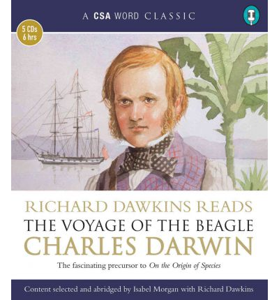 The Voyage of the Beagle by Professor Charles Darwin Audio Book CD