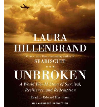 Unbroken by Laura Hillenbrand AudioBook CD