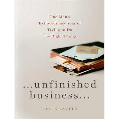 Unfinished Business by Lee Kravitz AudioBook CD
