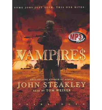 Vampire$ by John Steakly Audio Book Mp3-CD