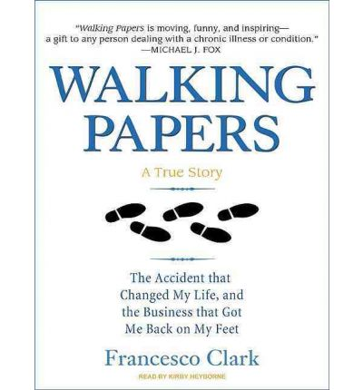Walking Papers by Francesco Clark AudioBook Mp3-CD