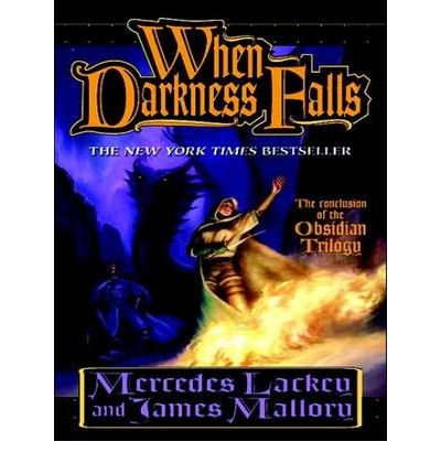 When Darkness Falls by Mercedes Lackey Audio Book CD