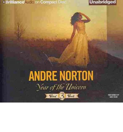 Year of the Unicorn by Andre Norton Audio Book CD