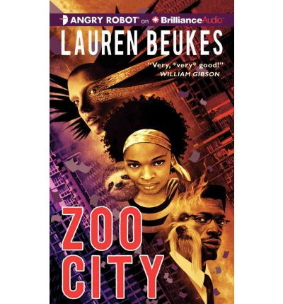 Zoo City by Lauren Beukes Audio Book Mp3-CD