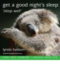 """Rest and Sleep"" by Lynda Hudson Audio Book CD"