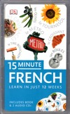 15 Minute FRENCH - 2 Audio CDs and Book - Learn to Speak French