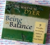 Being in Balance - Dr Wayne Dyer - Audio CD -