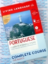 Brazilian Portuguese Living Language - Audio Book 4 CD + Coursebook -Discount