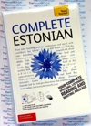 Teach Yourself Complete Estonian- 2 Audio CDs and Book - Learn to speak Estonian