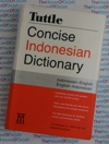 Indonesian Dictionary Compact 20,000 entries