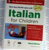 Italian for Children Audio Book CDs - Learn to speak Italian for Kids