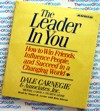 The Leader in You - Dale Carnegie,Michael Crom.Stuart Levine - Audio Book CD