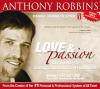 Love and Passion - Anthony Robbins - 1 Audios CDs and DVD Audiobook NEW