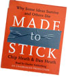 Made to Stick - Chip and Dan Heath - AudioBook CD - Unabridged