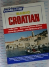 Pimsleur Basic Croatian - 5 Audio CDs - Discount - Learn to speak croatian