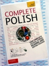 Teach Yourself Complete Polish- 2 Audio CDs  and Book - Learn to speak Polish