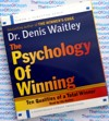 The Psychology of Winning - Dr Denis Waitley Audio Book CD