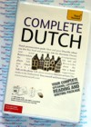 Teach Yourself Complete Dutch - 2  Audio CDs and Book -Learn to Speak Dutch