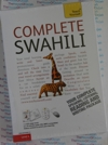 Teach Yourself  Swahili- 2 Audio CDs  and Book - Learn to speak Swahili
