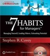 The 7 Habits for Managers -Stephen R. Covey AudioBook CD