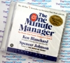 The One Minute Manager - Spencer Johnson M.D. and Ken Blanchard -  Audio Book CD